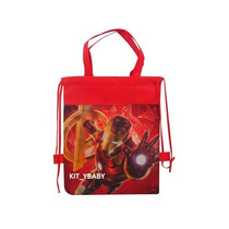 Fiesta D Iron Man Avengers, Morral Dulcero Mochila Original