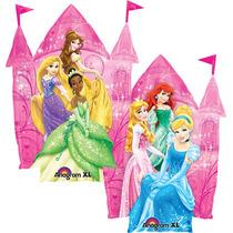 Globo Princesas Disney Paquete 6 Pza 14 Pulgadas Centro Mesa