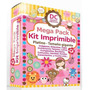 Kit Imprimible - Oro- Invitaciones Tarjetas Souvenirs