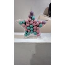 Figura Estrella Acrilico Rellenable 20cm Fiestas , Cumple