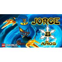 Ninjago Lego Banner Personalizado Articulos De Fiesta