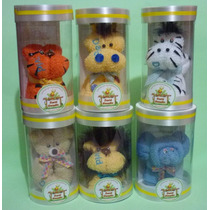 Recuerdo Invitación Bautizo Baby Shower Animalitos Selva
