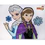 Figura De Fomy Elsa Y Anna Frozen