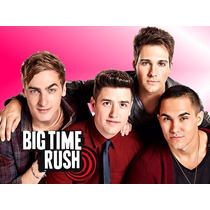 Kit Imprimible Big Time Rush, Invitaciones Y Cajitas