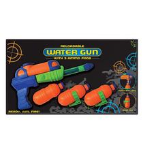 Pistola De Agua - Recargable Arma Disparos Verano Juguete Ni
