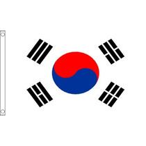 Bandera De Corea Del Sur - Corea 3ftx 2ft Nacional País Met