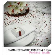 2000 Diamantes De Acrilico 4.5 Mm Para Decoración De Mesas