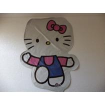 Globos Hello Kitty Fiestas 1 Pz Metálicos Silueta Helio 28 P