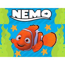 Kit Imprimible Buscano A Nemo Diseña Tarjetas Y Mas