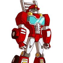 Kit Transformers Rescue Bots Diseñá Tarjetas Cajas Cumple #2