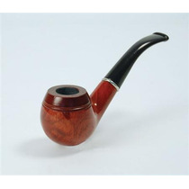 Sherlock Holmes Traje - Madera Fumar Pipa Del Vestido De Luj