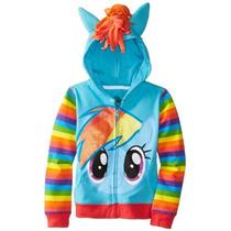 Mi Peque?o Pony Rainbow Dash Azul Chicas Traje Sudadera