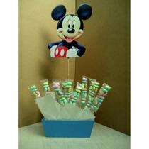 Centro De Mesa Dulcero Mikey Mouse