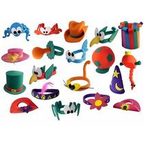 Paquete 25 Pz De Sombreros Para Fiestas Xv Años Cotillones