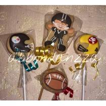 Galletas Decoradas Futbol Americano Cascos Balon Mamuts