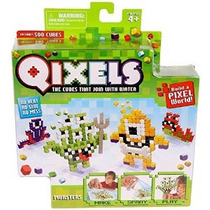 Qixels Temático Refill Pack - Monsters