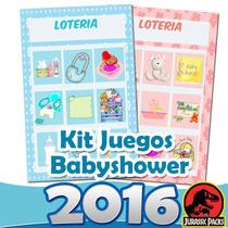 Kit Juegos Para Babyshower Kit Imprimible Baby Shower 2016