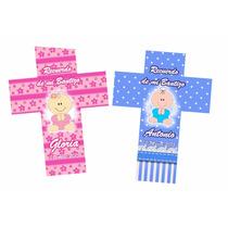 10 X $139.90 Cruces Personalizadas Recuerdo Para Fiestas