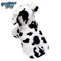 Petpawjoy Perro Gato Vaca Juego Traje, Amarillo, Medio