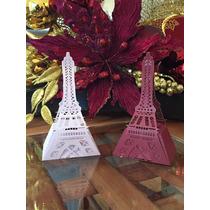 Hermosas Cajitas Corte Laser Torre Eiffel