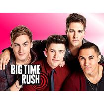Kit Imprimible Big Time Rush Diseñá Tarjetas Cumples 2x1