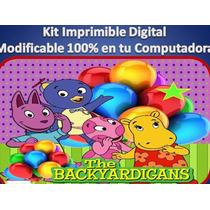 Kit Imprimible 2x1 Backyardigans Fiesta Cumpleaño Princesa