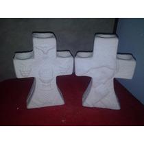 Hermosa Cruz 1a Comunion Yeso Ceramico Alcancia Para Pintar