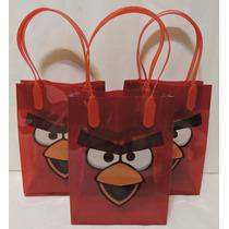 Angry Birds Dulceros Bolsas 10 Recuerdos Regalos Aguinaldos