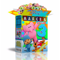 2x1 Mega Kit Imprimible Pocoyo Powerpoint 100% Editable Invi