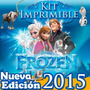 Kit Imprimible Frozen Invitaciones Candy Bar Cumples