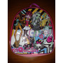 Lote 10 Mochilas Dulceros Monster High