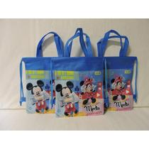 Minnie Mickey Mouse Dulceros Bolsas Fiesta 10 Regalos Unisex