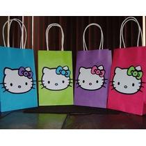 Bolsas Para Fiesta Infantil Hello Kitty