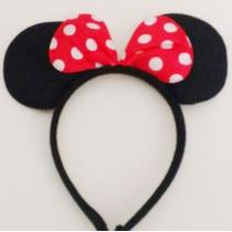 Diadema Mimi Y Mickey Mouse, Orejas Moño Minnie,fiesta