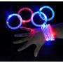 10 Pulseras Con Luz Led De Colores Para Fiestas Cumpleaños