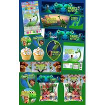Kit Imprimible Un Gran Dinosaurio Mas De 30 Etiquetas