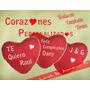 Corazón Almohada Peluche Regalo Aniversario Personalizado