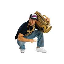 Hip Hop Disfraz - Inflable Ghetto Blaster