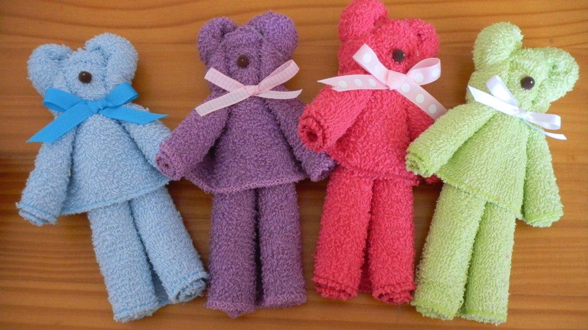 como hacer osos con toallas imagui