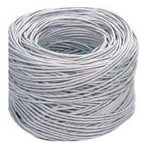 Bobina De Cable Utp Cat 5e. 305m Blanca 0.40mm 8hilo Rj45