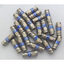 Conectores Tipo F De Compresión Para Cable Coaxial Rg6 Vv4