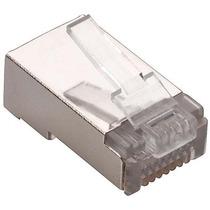 Plug Conector Rj45 Para Cable Red Utp Cat 5e 20 Piezas #44