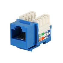 Jack Rj45 Cat5e Conector Hembra Red Utp Azul Xcase