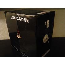 Bobina De Cable Utp Blanco Cal.45 Cat5e 305m 20 Rj45 Gratis