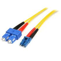Cable De Red Adaptador De 7m Monomodo Dúplex Fibra Óptica Lc