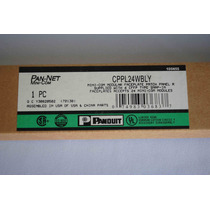 Patch Panel Panduit 24 Puertos 1ur Vacio Cppl24wbly C22