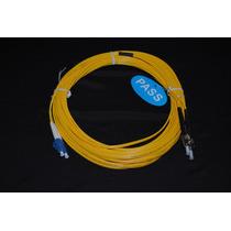Cable De Fibra Optica Jumper Lc-st Monomodo Duplex 11mts A07