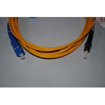 Cable De Fibra Optica Jumper Sc-st Monomodo Simplex 3mts A13