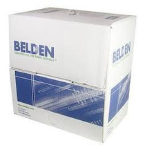 Bobina De Cable Utp Belden Cat 5e Blanco 305 Mts