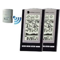 Ambient Tiempo Ws-1173-2-kit Dual Estación Meteorológica Zon